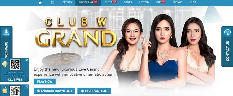 Online Live Casino India W88 Has International Quality