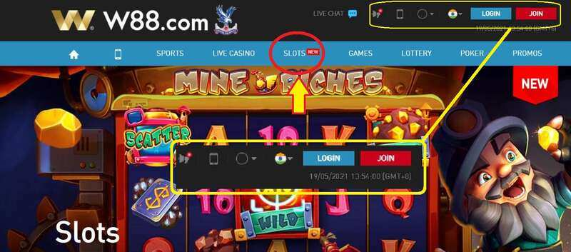 How to Play Slot W88 India - India's Slot King of 2021 - Register