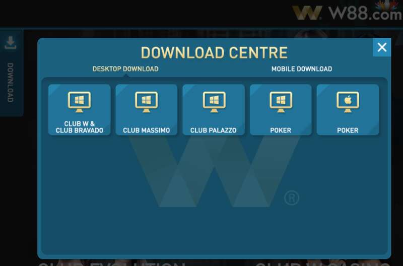 Play Anywhere at Anytime and W88 Club Login Using the Mobile App