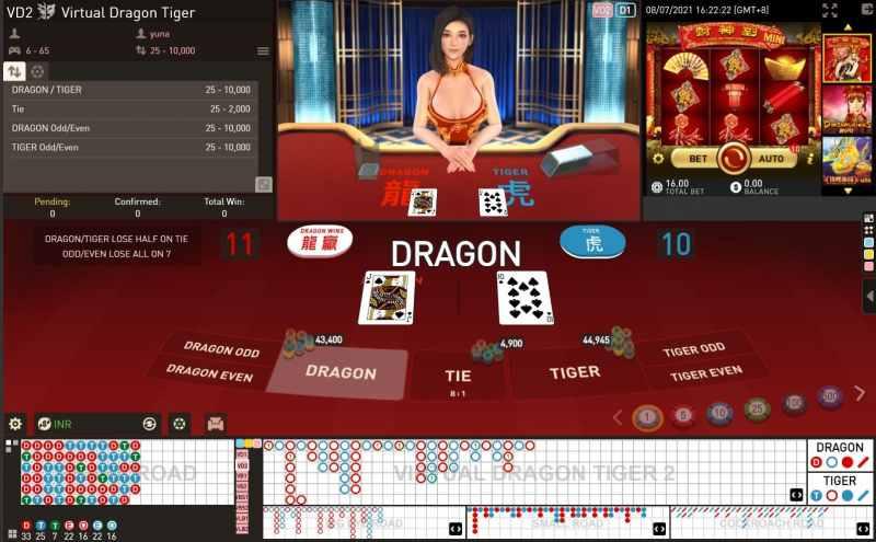 Basic Rule in Playing Dragon Tiger Card Game - Virtual Dragon Tiger