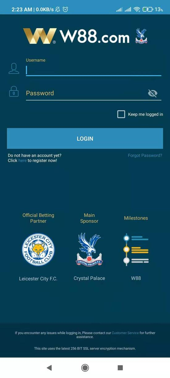 How to Access W88 Login Page - Mobile Login