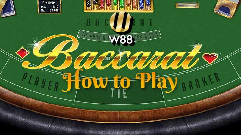 Know the Basic Rules of Baccarat Casino Game at W88