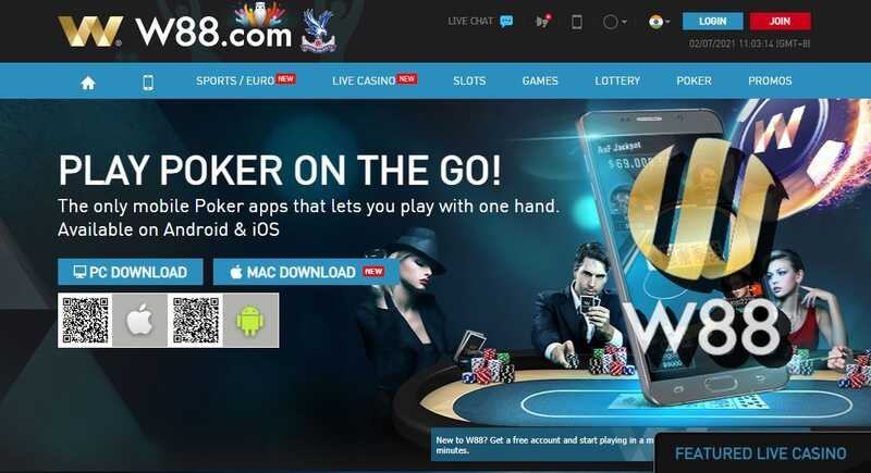 Play Poker88 at W88 India and Enjoy Massive Earnings