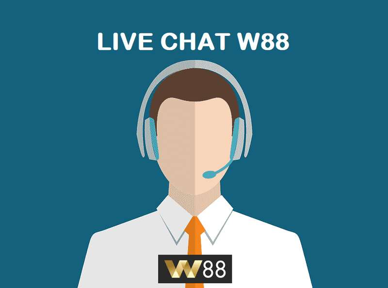 Live Chat W88 Feature