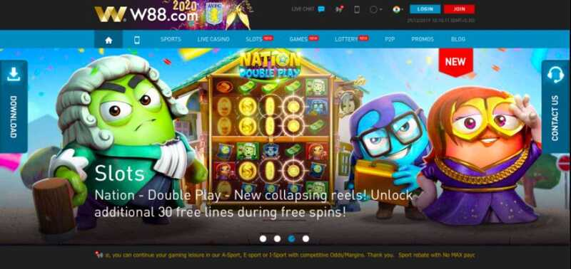 W88 Login Dashboard: One of the Best Casino Gaming Options in India 2022
